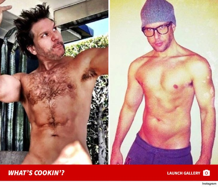 Dane Cook Stripped Down To Birthday Suit