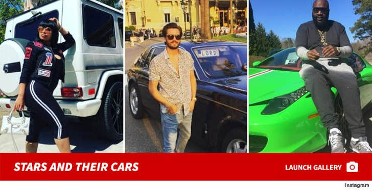 Stars Showing Off Their Cars