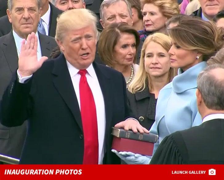 Donald Trump -- Inauguration Day