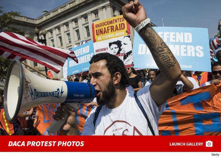 Protests of Trump's Ending of DACA