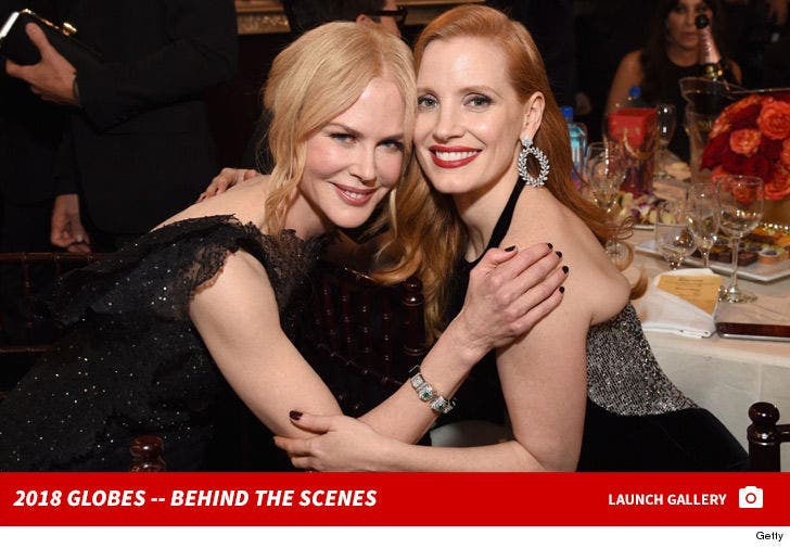 75th Golden Globe Awards -- Behind the Scenes
