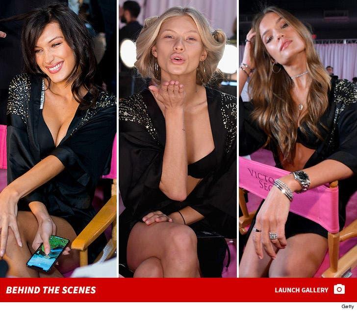 Victoria's Secret Fashion Show 2018 -- Behind the Scenes