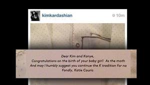 Kim Kardashian to Katie Couric -- You're a Two-Faced Bitch