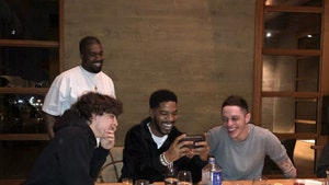Kanye, Kim, Pete Davidson & Timothee Chalamet Celebrate Kid Cudi's Birthday