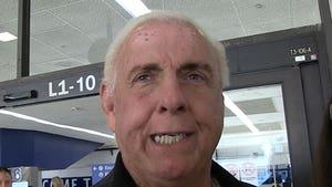 Ric Flair to Hulk Hogan, I'm Healthy Enough to Beat Your Ass!
