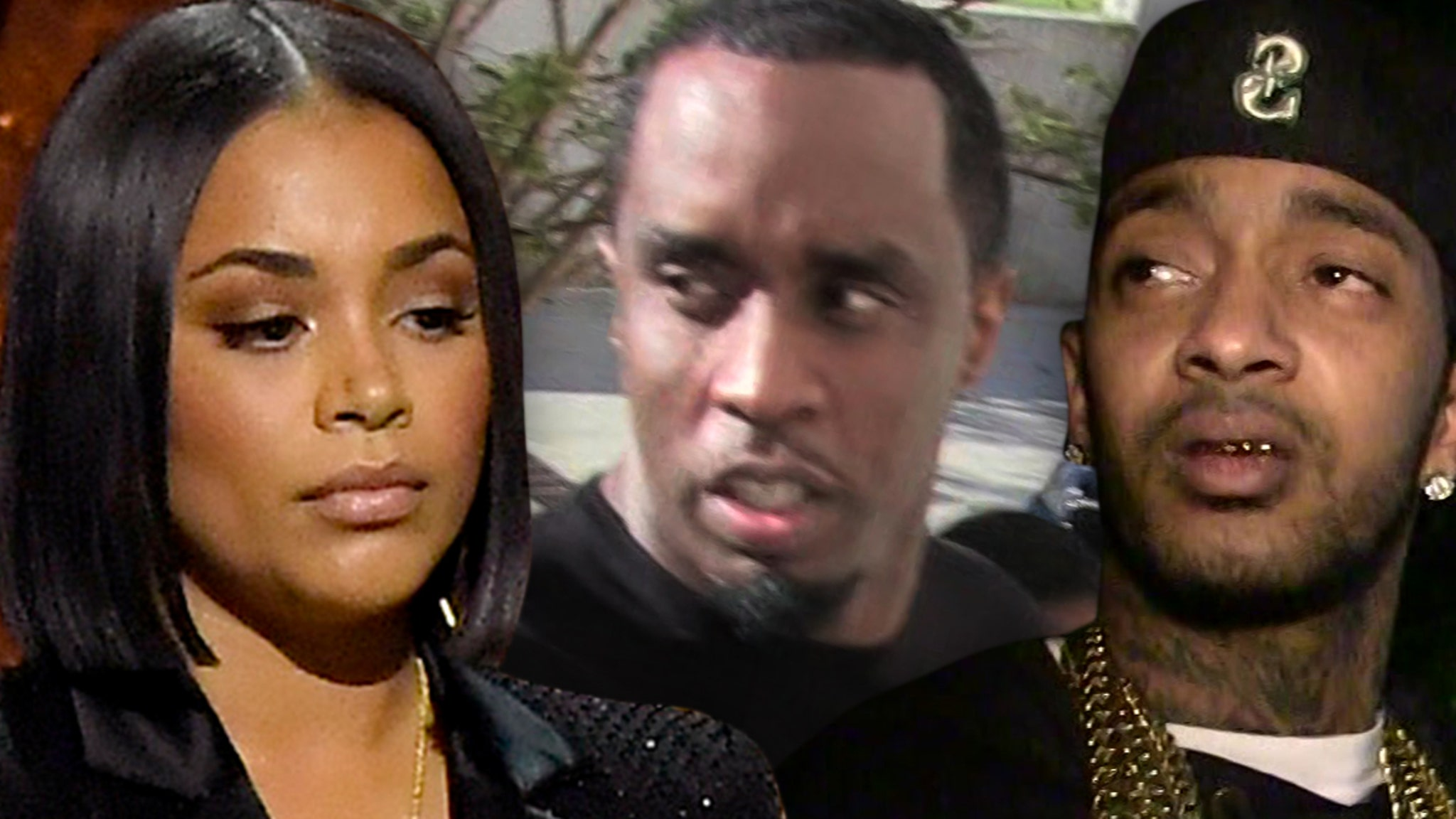 Lauren London Not Dating Diddy, Proclaims Love for Nipsey