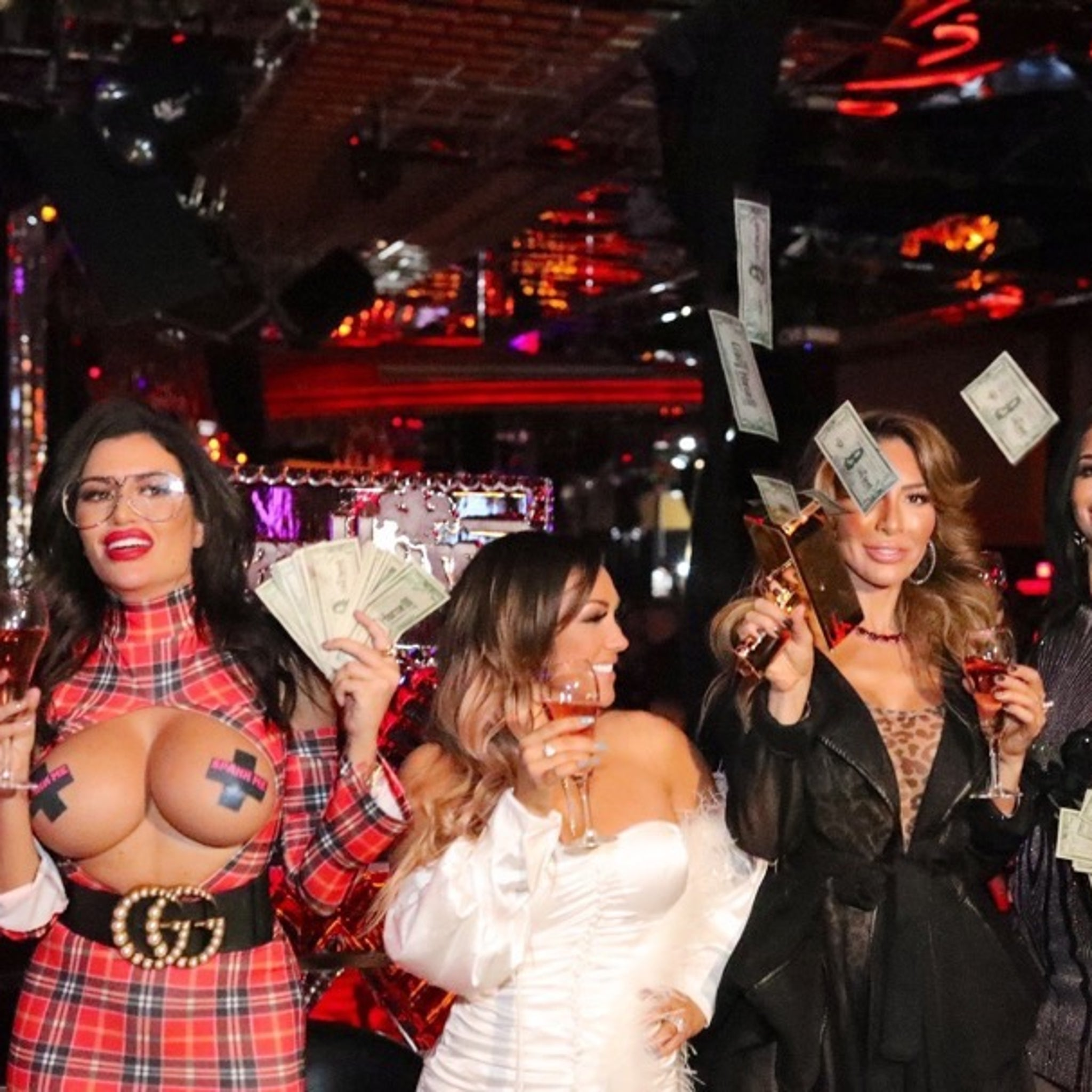 Jenn Harley and Farrah Abraham -- Getting Wild at Crazy Horse in Vegas