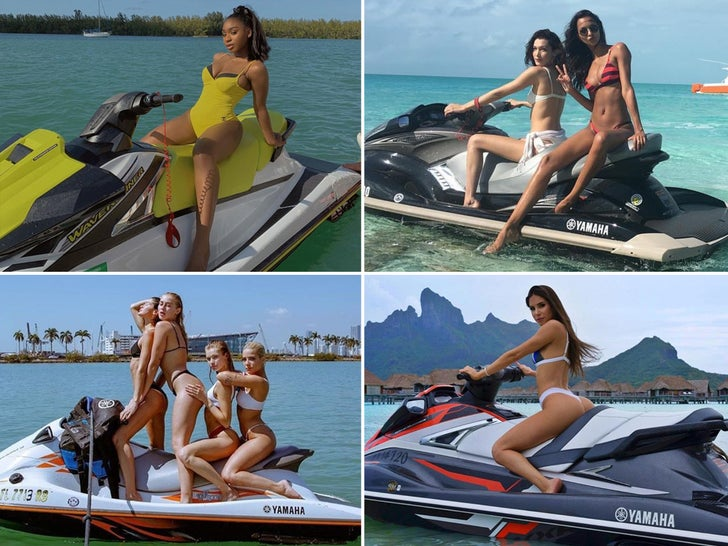 Babes On Jet Skis -- Hit The Gas!