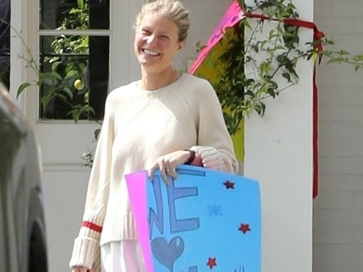 Gwyneth Paltrow's Son Moses Gets Socially Distanced Bday Parade