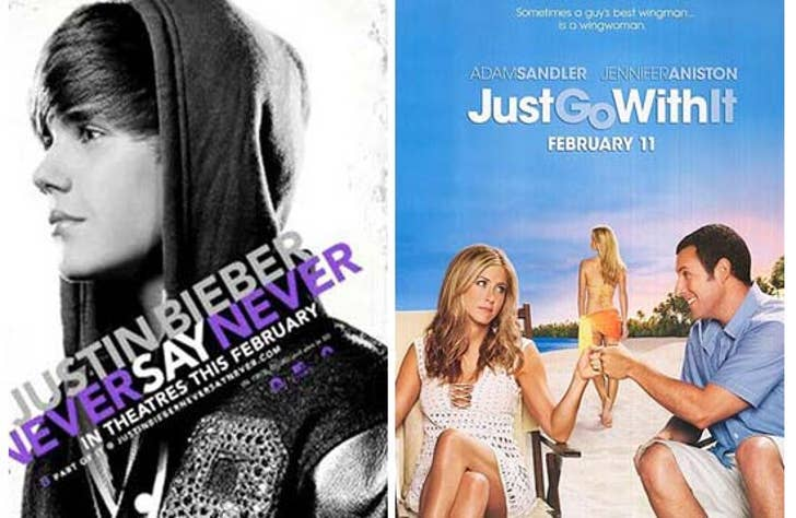 Justin Bieber Beats Up Adam Sandler, Jen Aniston