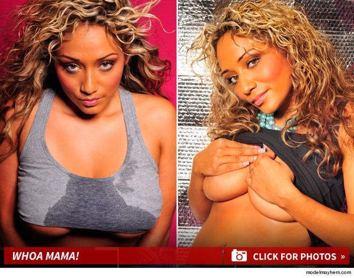 Chris Brown -- His Baby Has a Model Mother