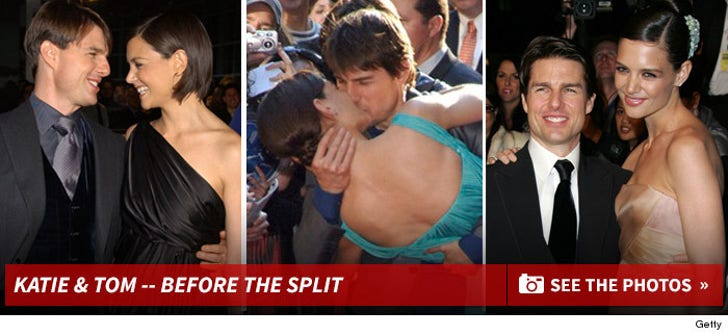 Tom Cruise and Katie Holmes - Before The Split