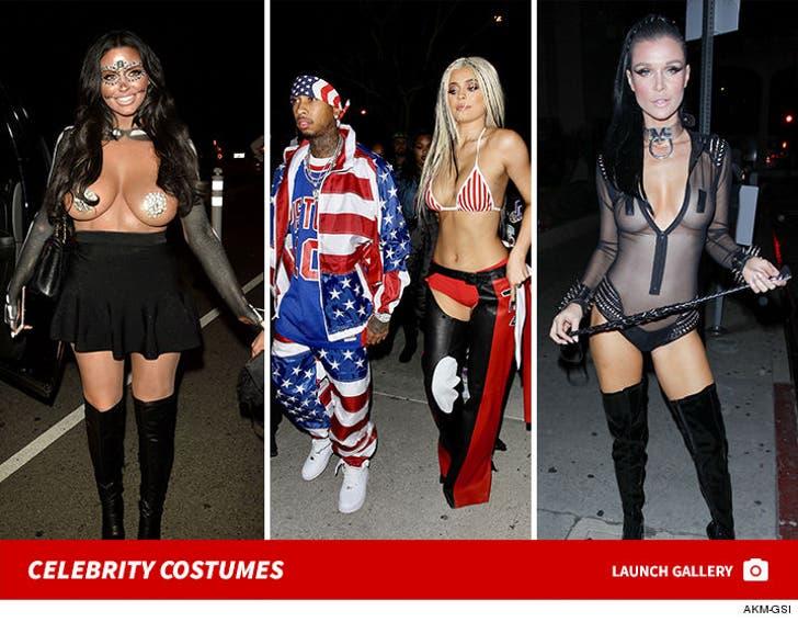 Celebrity Costumes -- Halloween Weekend 2016