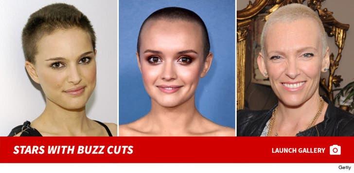 Shaved Head Stars -- Get Yer Buzz On!
