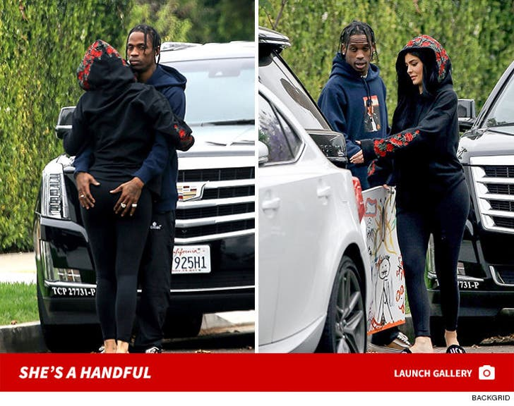 Kylie Jenner and Travis Scott: Steamy PDA session in L.A