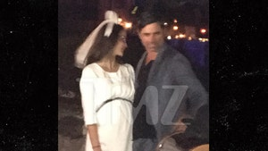 John Stamos and Wife Caitlin McHugh Honeymooning at Disney World's Magic Kingdom