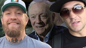 Jerry Jones 'Very Open' To Holding McGregor-Poirier At AT&T Stadium, I Love Conor!