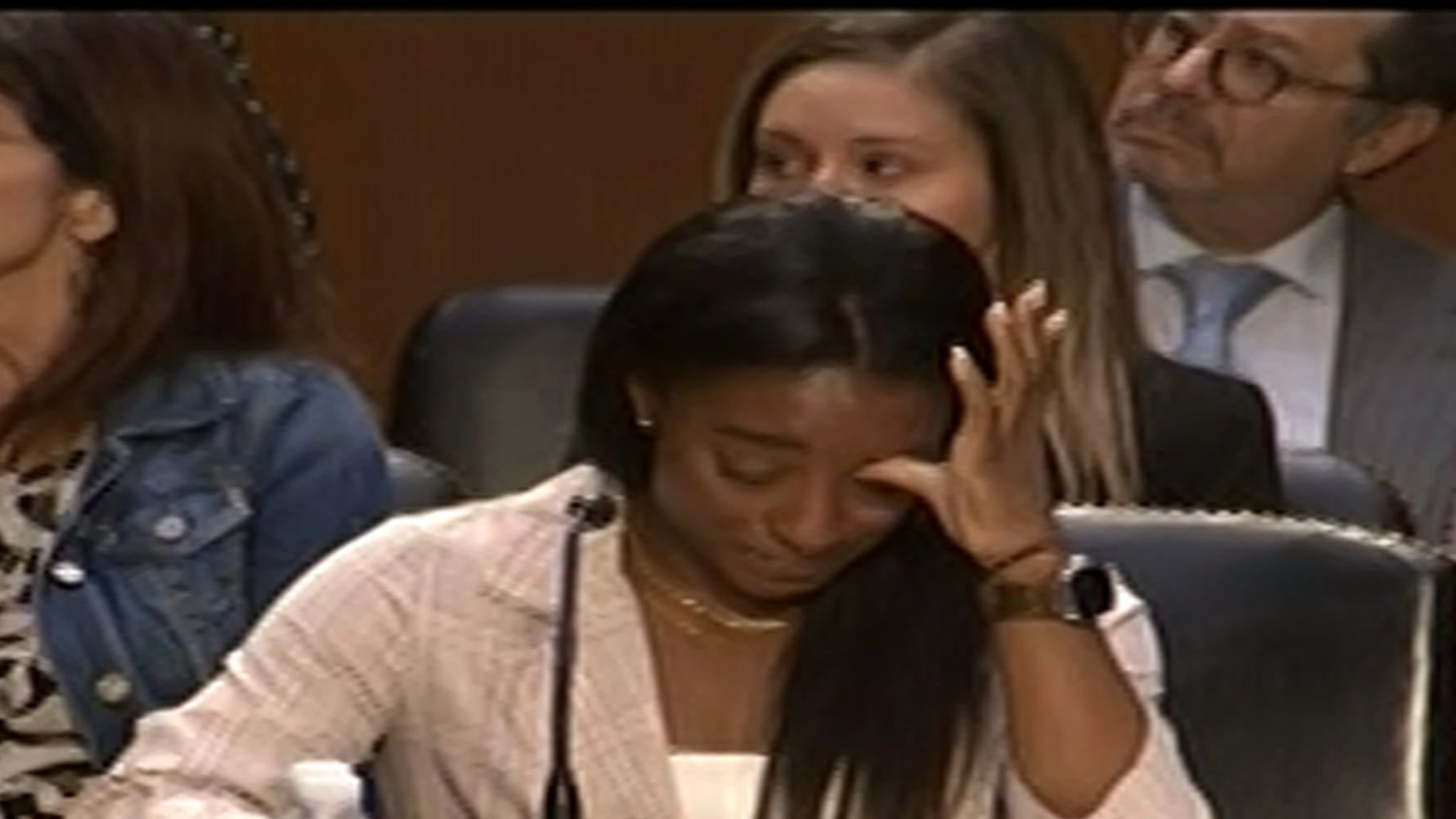 Simone Biles Gets Emotional Testifying On Capitol Hill, System Failed Me thumbnail
