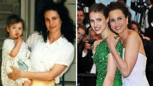 Margaret Qualley and Andie MacDowell -- Mother/Daughter Photos