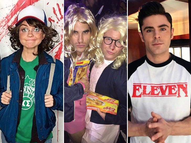 Celebrity 'Stranger Things' Fanatics