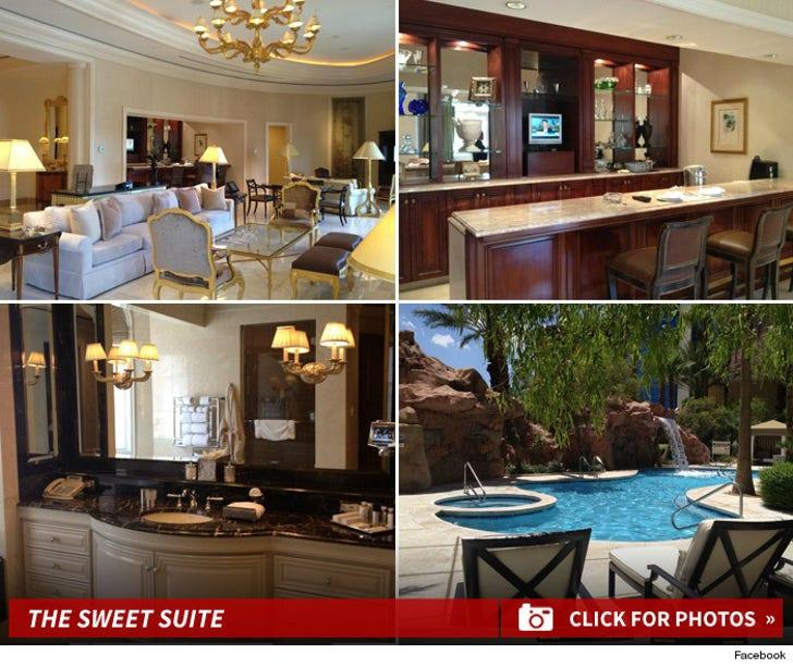 Britney Spears' Rio Hotel Suite