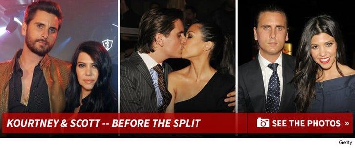 Kourtney Kardashian & Scott Disick -- Before the Split