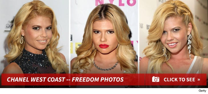 Chanel West Coast -- Freedom Photos