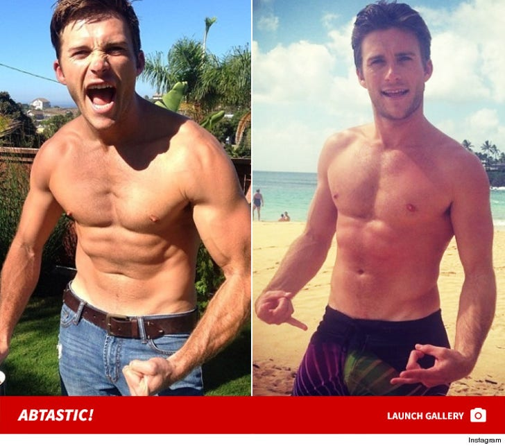 Scott Eastwood Shirtless Shots