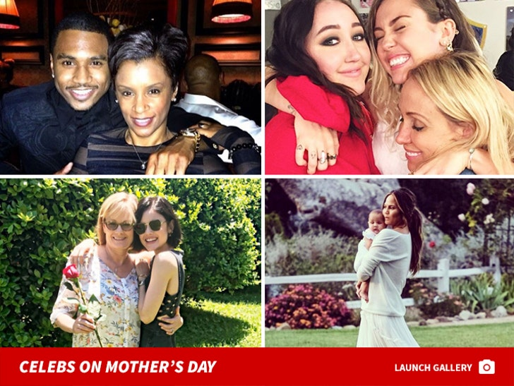 Celebs On Mother's Day