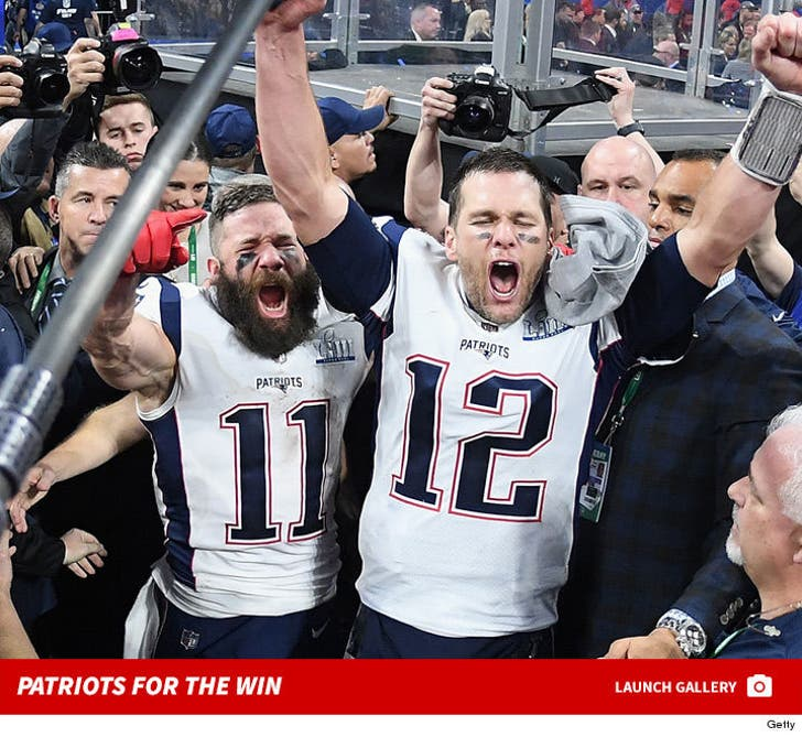 New England Patriots Celebrate Super Bowl LIII Win