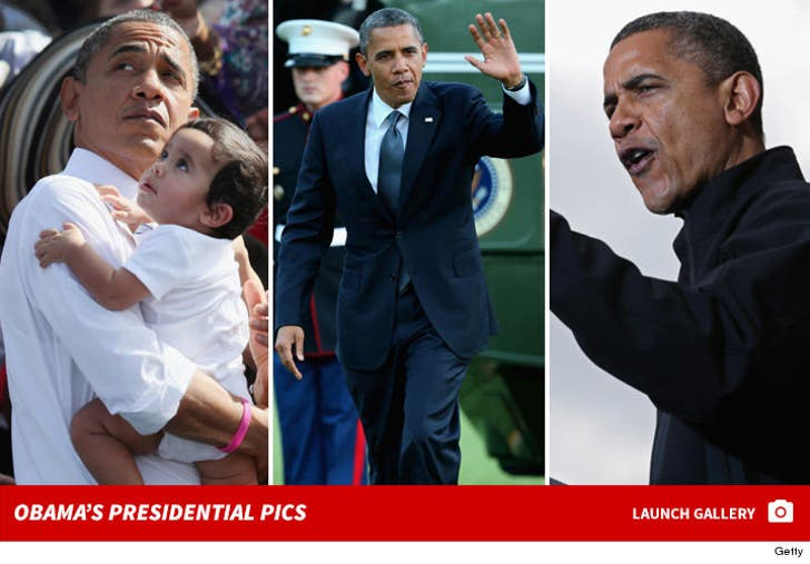 Obama's Presidential Pics