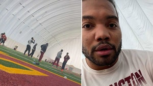 Redskins Players Together At Team Facility, Bad Optics, But Allowed