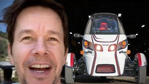 Mark Wahlberg Drops $20,000 On Custom 3-Wheeler Arcimoto FUV