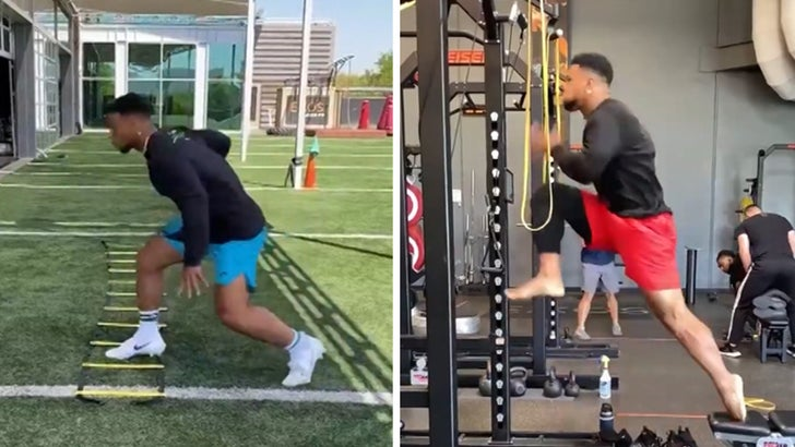 Saquon Barkley Crushes Workout 6 Months After ACL Surgery, Jumps Off Injured Knee!.jpg