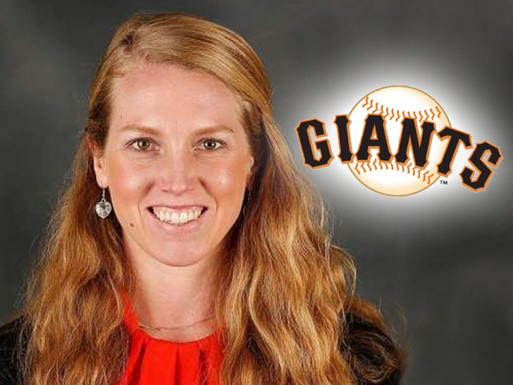 San Francisco Giants Hire First Full-Time Female Athlete in MLB History