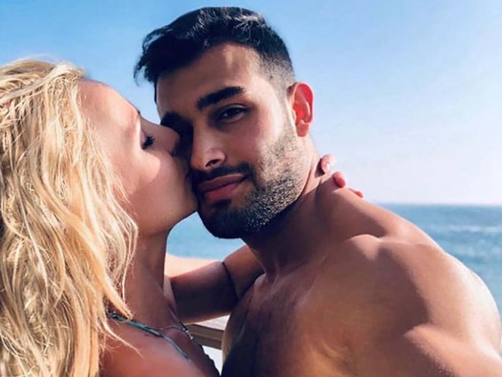 Sam Asghari and Britney Spears Together