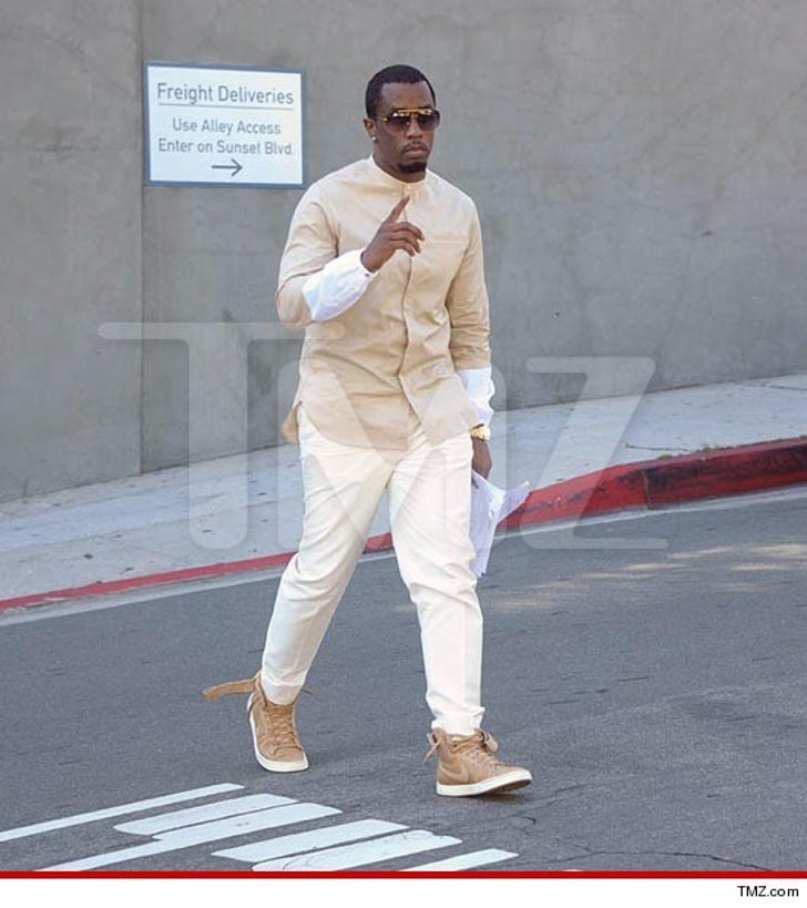 Diddy -- Back On His Feet After Car Accident