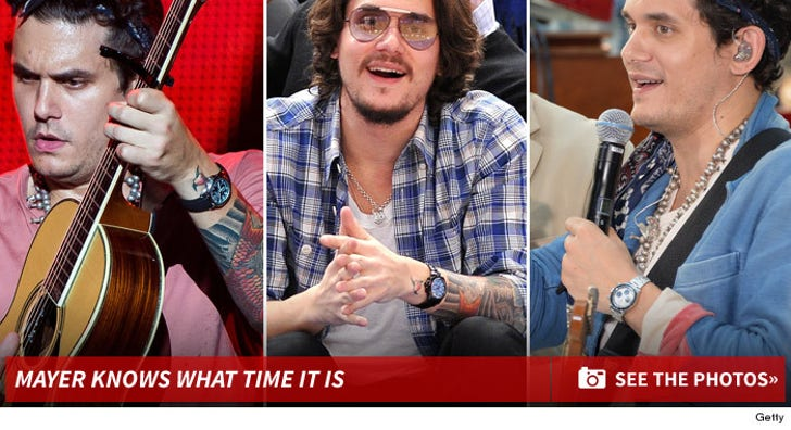 John Mayer Knows What Time It Is