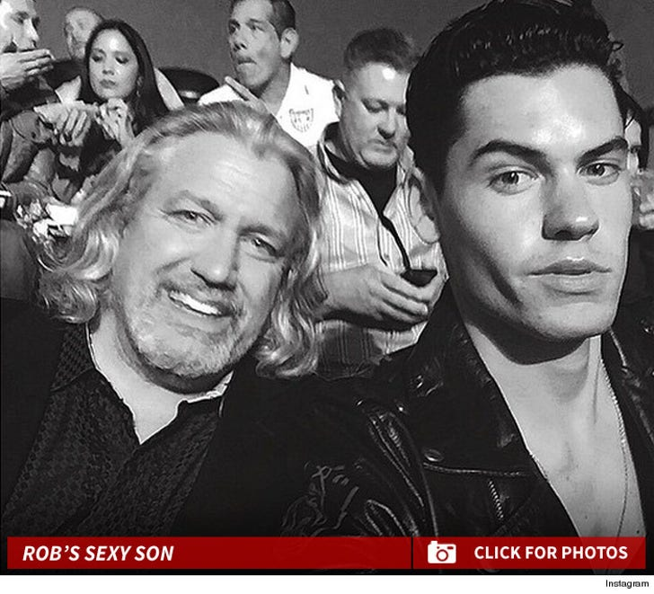 NFL's Rob Ryan -- My Son's a Model ... And He's Hot!!!