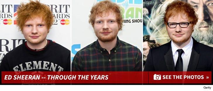Ed Sheeran -- Through The Years