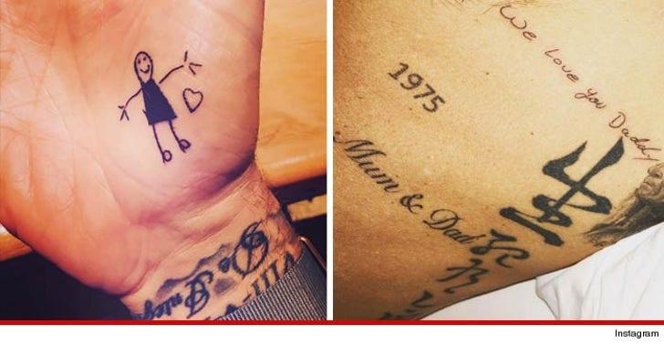 David Beckham My Kids Dont Write On Walls They Write
