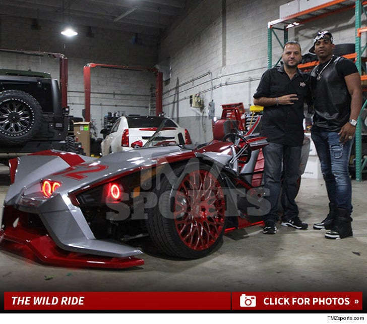 Yoenis Cespedes' Cool New Ride
