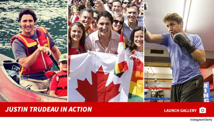 Justin Trudeau in Action