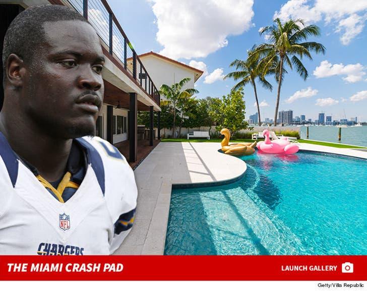 Melvin Ingram's Miami Rental