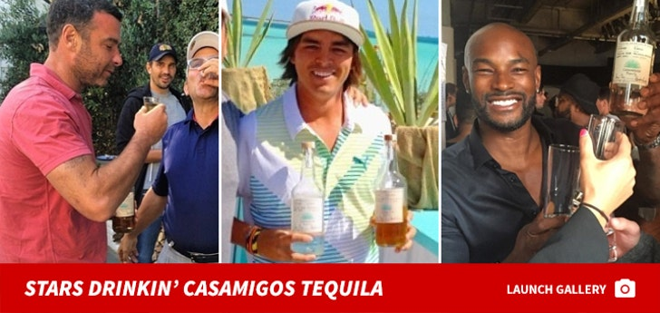 Stars With Casamigos Tequila