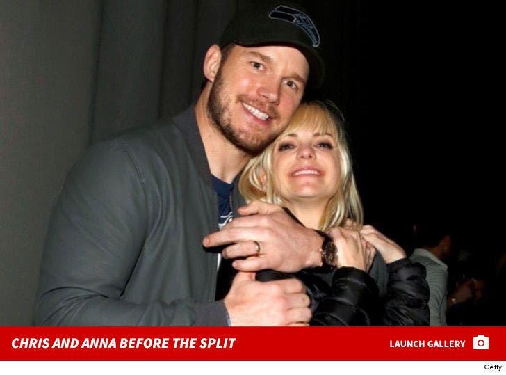 Chris Pratt and Anna Faris -- Before the Split