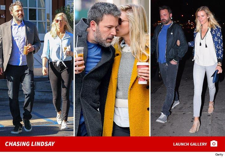 Ben Affleck and Lindsay Shookus Together