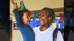 Wiz Khalifa -- Gotcha Amber! I Just Threw a Birthday Bash for Sebastian