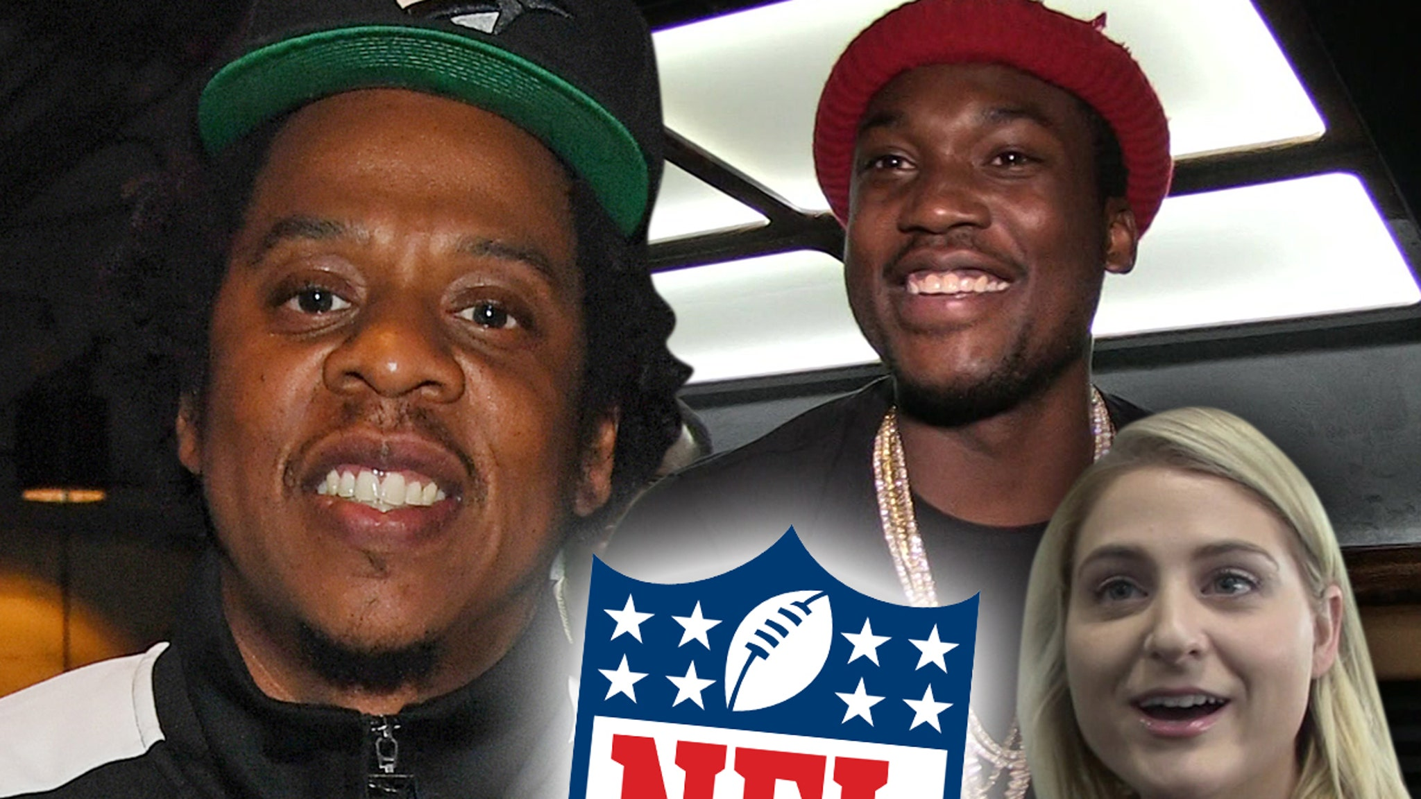 Jay-Z, NFL Launch Inspire Change Program, Meek Mill & Meghan Trainor Join