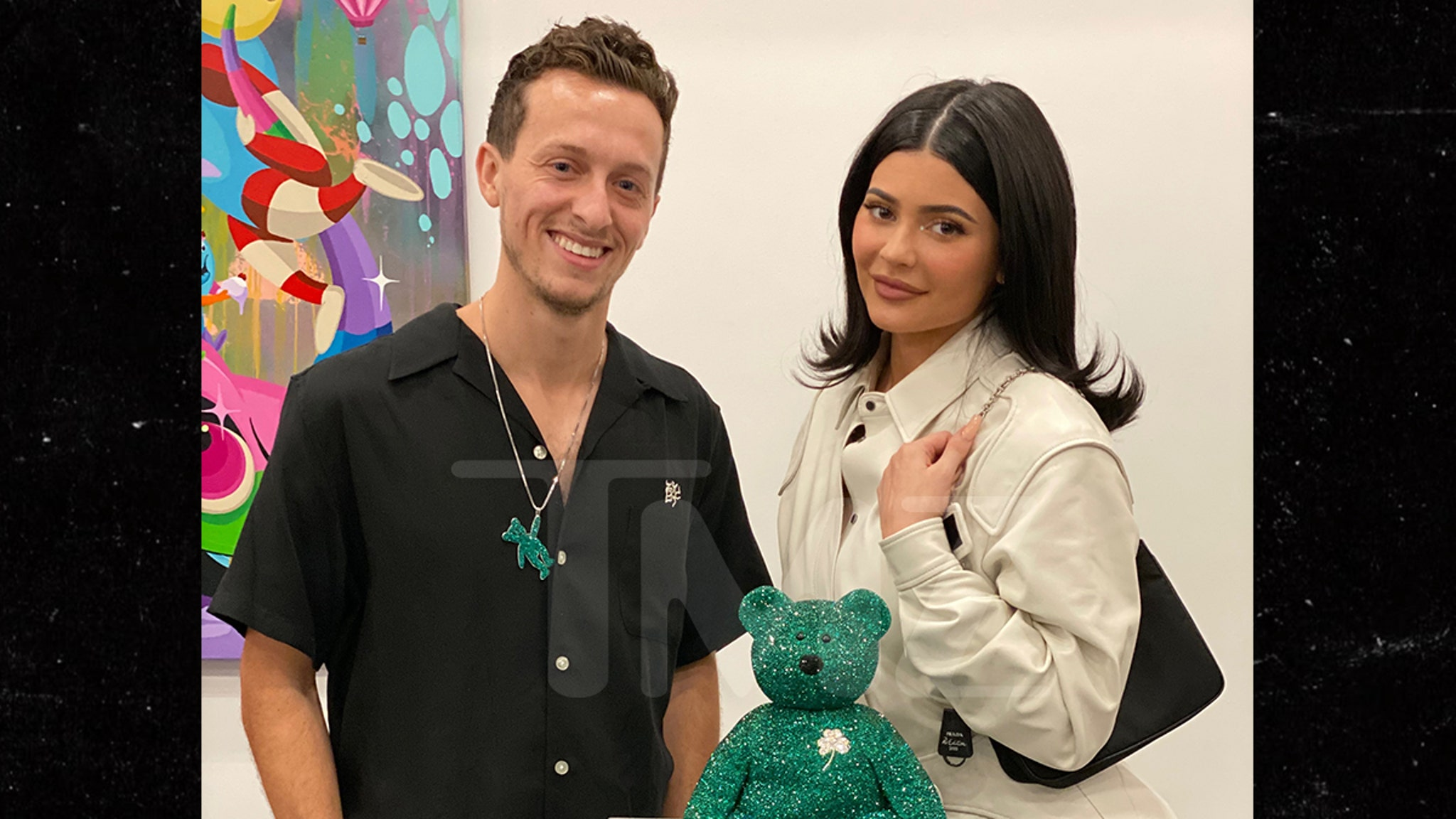 Kylie Jenner Drops $12,000 For Beanie Babies Bear Covered In Crystals